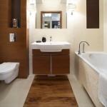 плитка под дерево для ванной комнаты