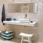 3d плитка для ванной с волнистым узором