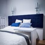 Спальня в голубых оттенках – какие аксессуары выбрать?
