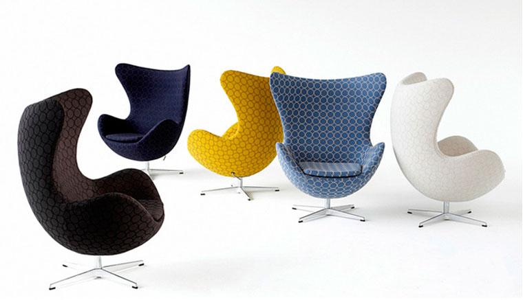 Круглое кресло egg chair