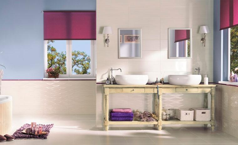 Модные и современные цвета в ванной 2016