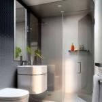 Дизайн плитки для маленькой ванной комнаты