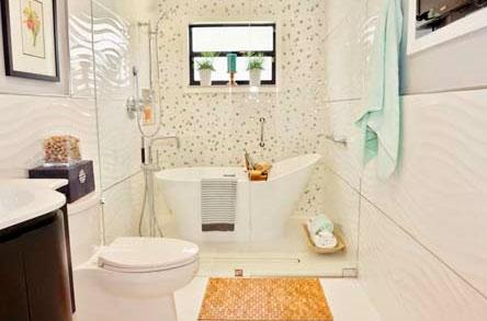 Дизайн плитки для маленькой ванной комнаты как правильно выбрать