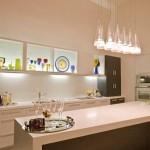 Подвесной светильник на кухню над столом