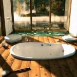 Дома из бруса, интерьер внутри – фото