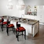 Интерьер кухни в стиле фьюжн