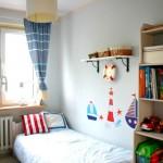 Короткие шторы в спальню до подоконника – фото