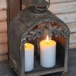 свечи и фонари