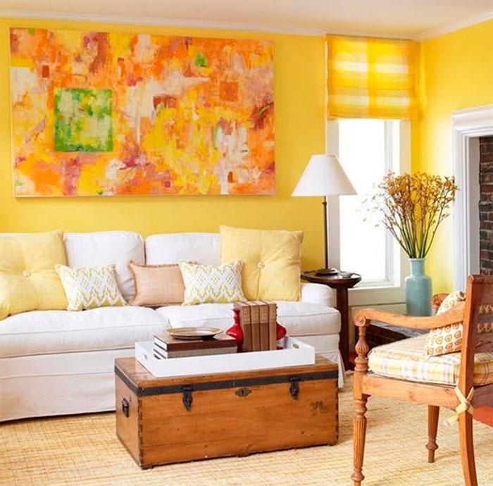 результате скрещивания желтая гостиная в картинках был путь