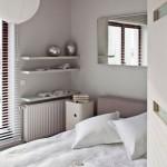 Белая спальня в интерьере, фото