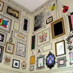Рисунки на стенах в детской комнате