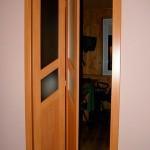 Складные двери межкомнатные книжка – фото