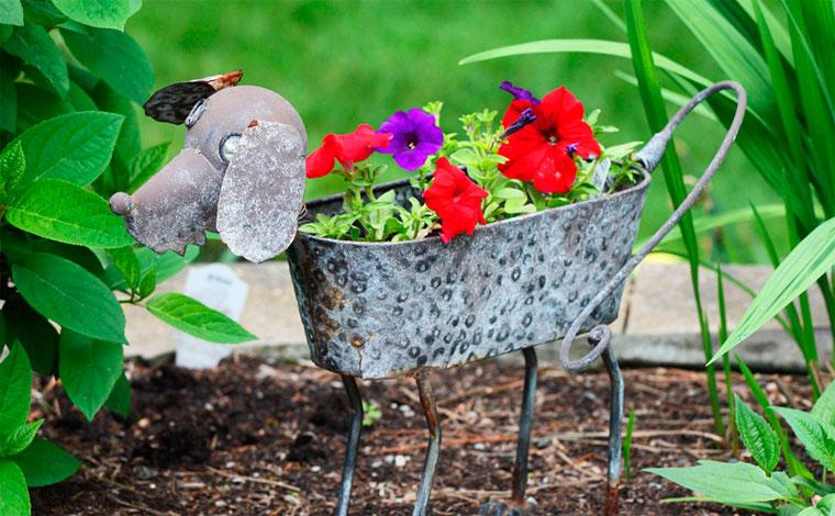 Интересные идеи для сада и огорода своими руками