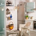 Стол и стулья для маленькой кухни в мини-версии