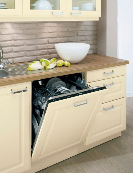 Расположение посудомоечной машины