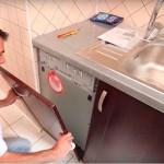 Маленькая посудомоечная машина под раковину