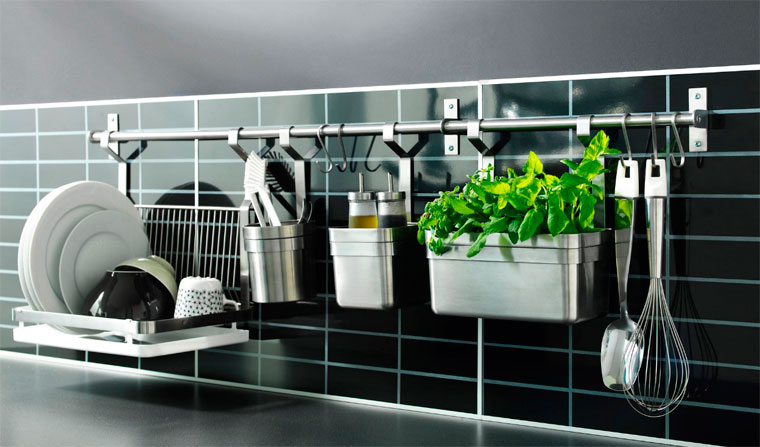 Стены на кухне – идеи