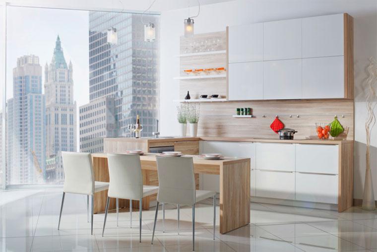 Столешница для белой кухни