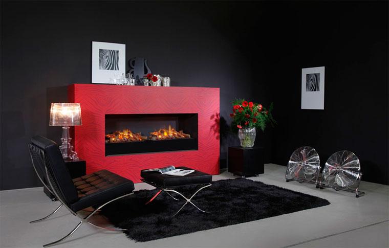 Камин электрический с эффектом пламени 3d