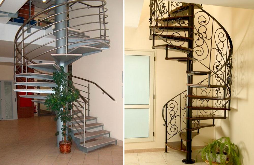 также помещаются железная лестница на второй этаж фото лучше