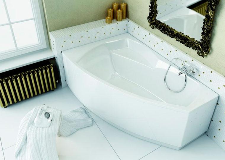 Ванны для маленьких ванных комнат