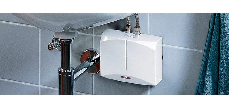 Электрический проточный водонагреватель на кран