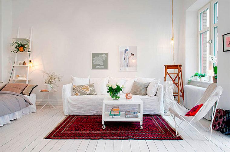 фото квартиры в скандинавском стиле