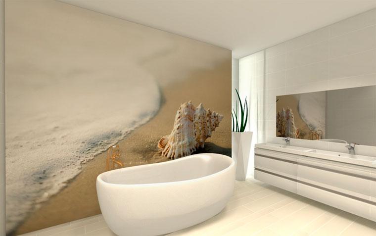 Чем отделывают стены в ванной кроме плитки?