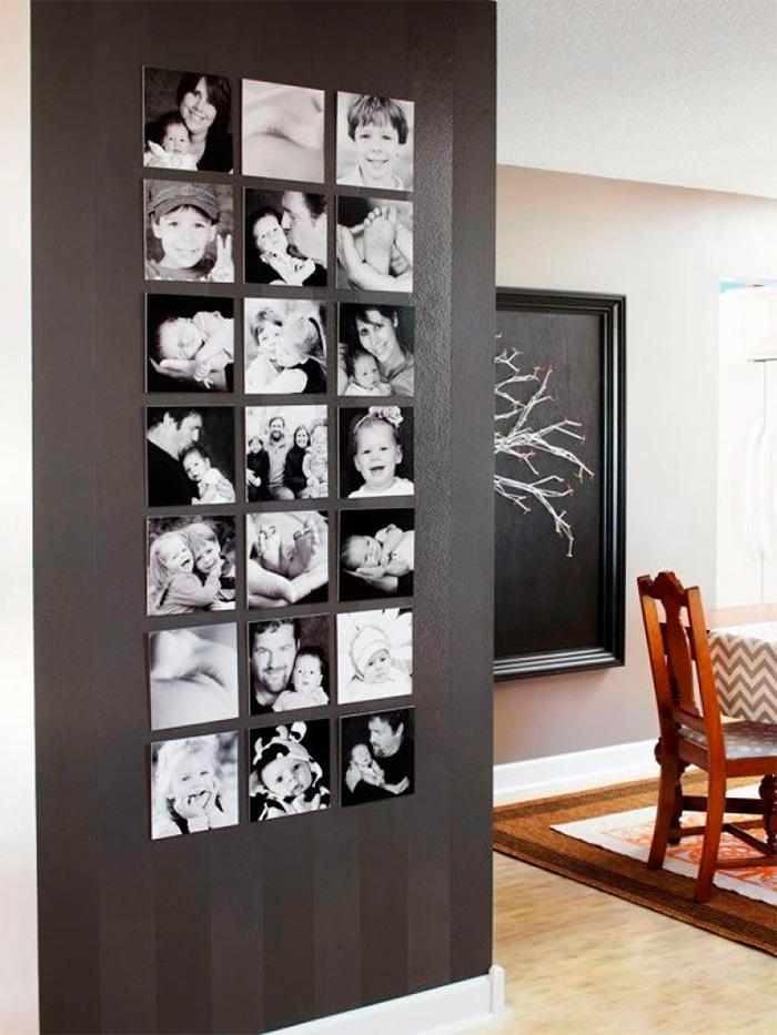 фотографиями рассылке как красиво оформить стену фотографиями маленькой кухни удобнее