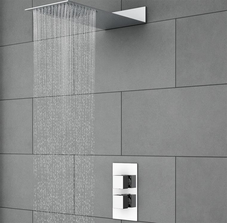 Тропический душ для ванной: особенности, плюсы и минусы