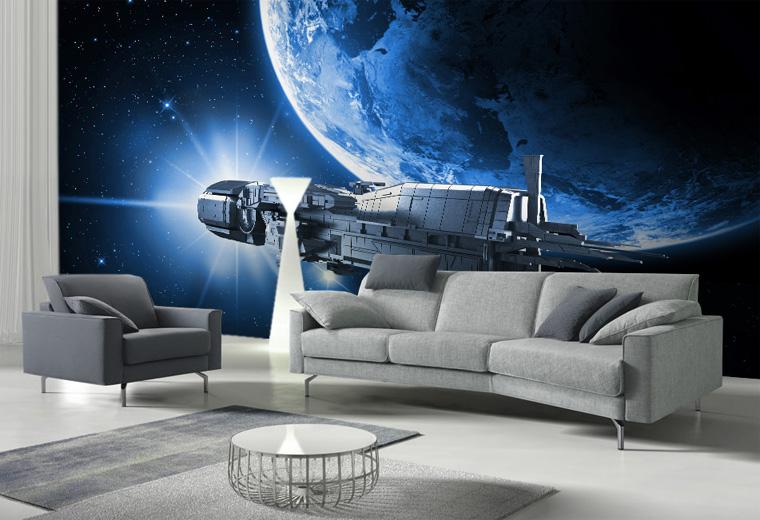 космос картинки для зала этом долго сохраняет